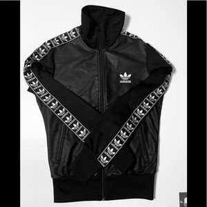 Adidas Black Bomber Jacket